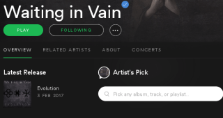 Waiting in Vain on Spotify