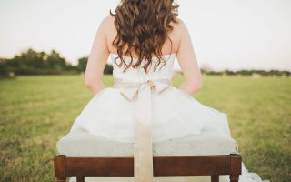 I feel like the girl in 27 dresses!
