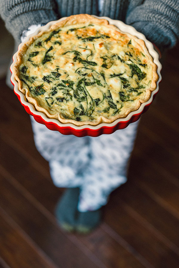 Spinach Goat Cheese Quiche The Perfect Meal To Serve At Brunch