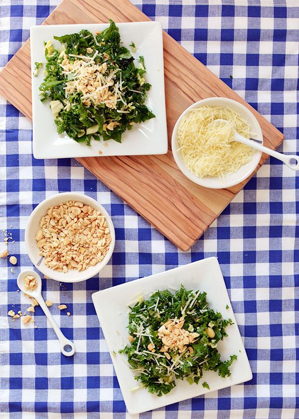 Houston's emerald kale salad recipe