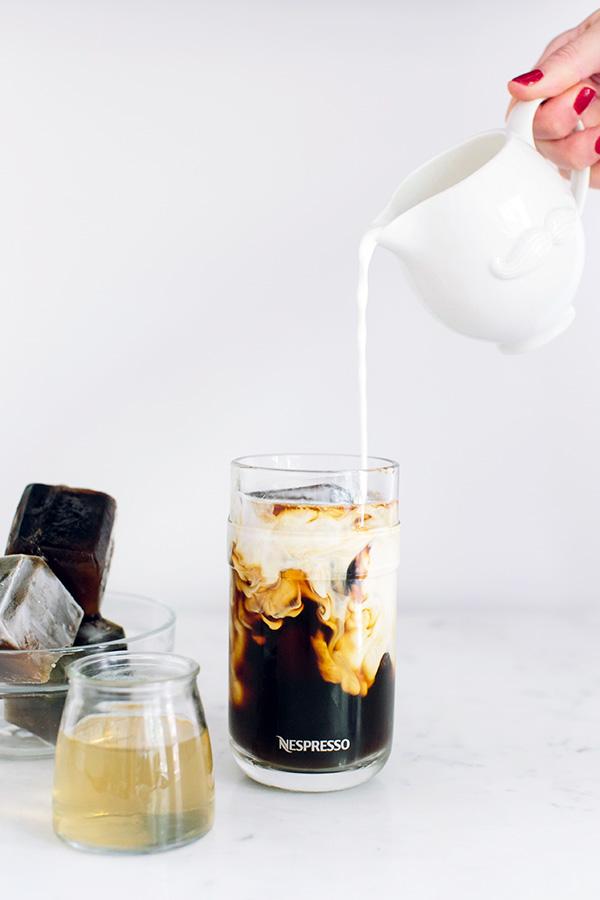 Caramel Iced Coffee from Waiting On Martha