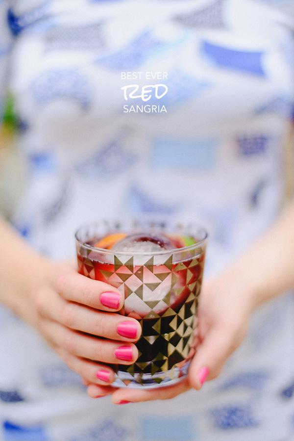 Best Ever Red Sangria Recipe