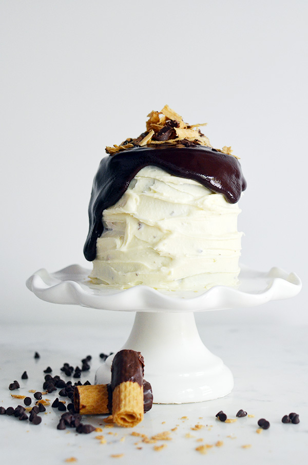 Dark Chocolate Ganache Cookie Cake, Waiting On Martha