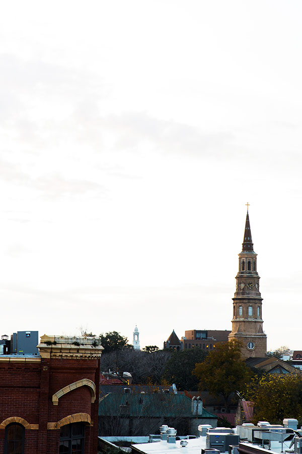 Downtown Charleston skyline