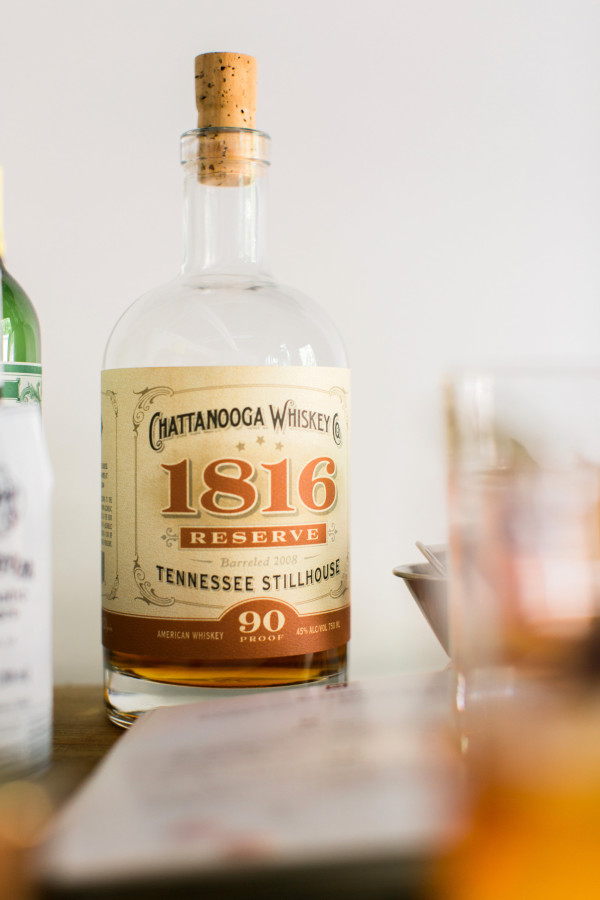 Chattanooga Whiskey in The Classic Manhattan