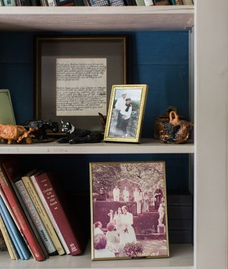 Vintage bookshelf details | Waiting on Martha