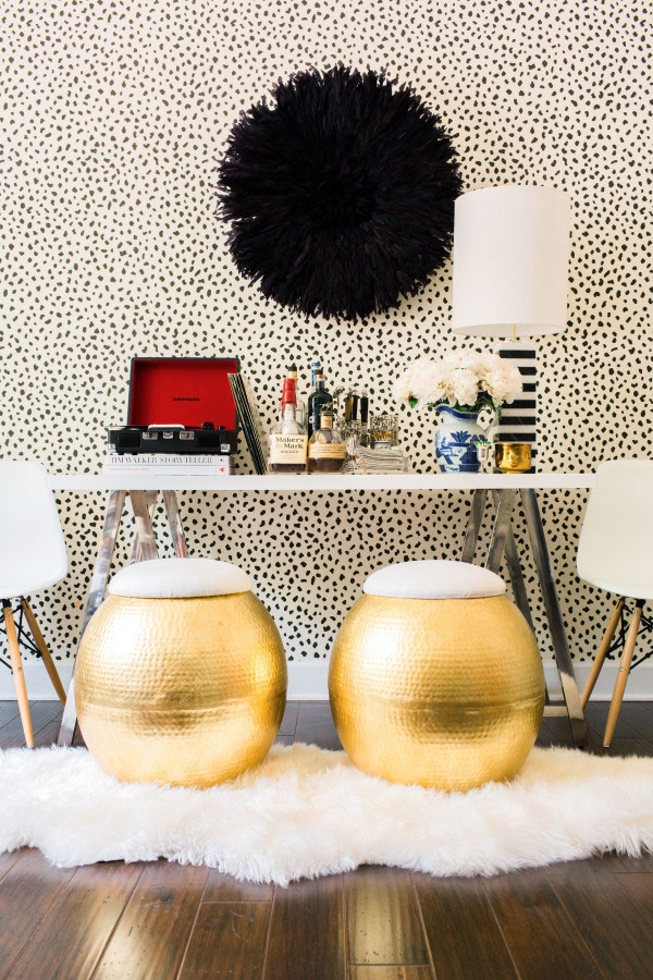 Crafting A Bar with the World Market Mix and Match Desk