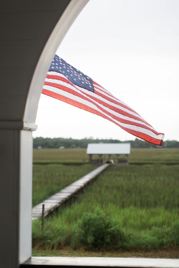 American flag over the low country, Waiting on Martha