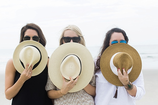 Summertime + straw hats, Waiting on Martha