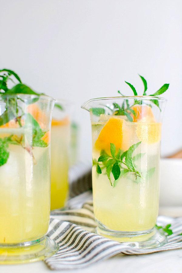 Gin Punch recipe via Waiting on Martha