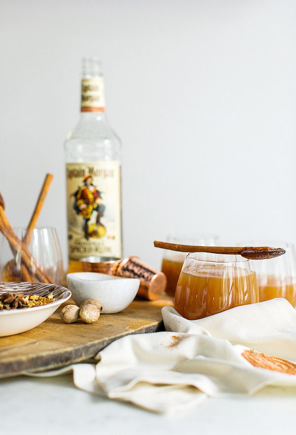 Spiced Rum Cider recipe via Waiting on Martha
