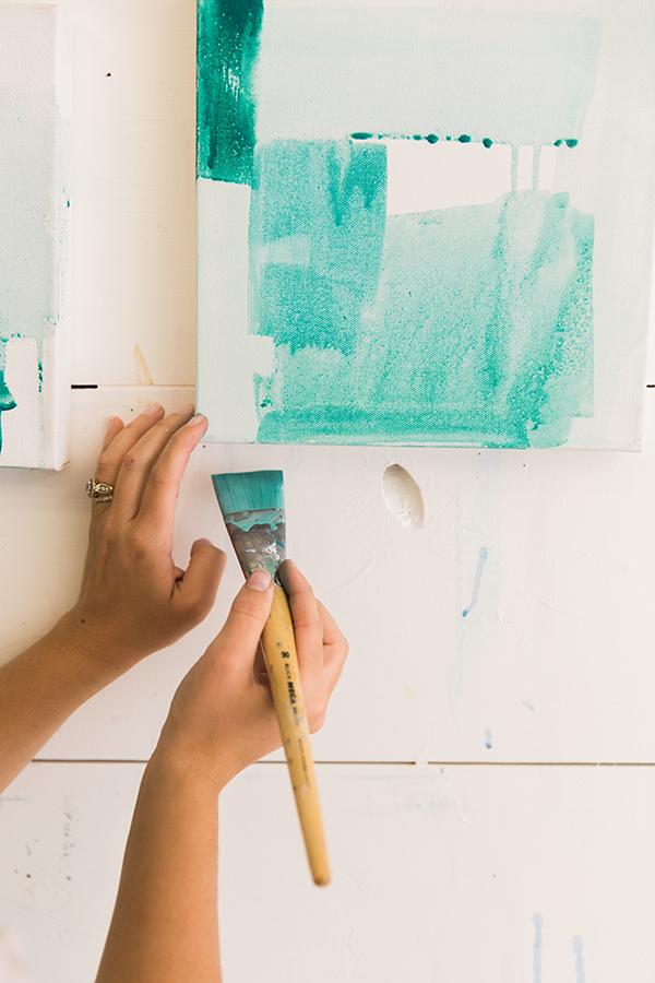 Abstract artist Britt Bass, #TheCreateSeries on Waiting on Martha