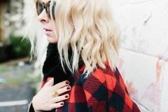 Red and Black Lumberjack Plaid Jacket