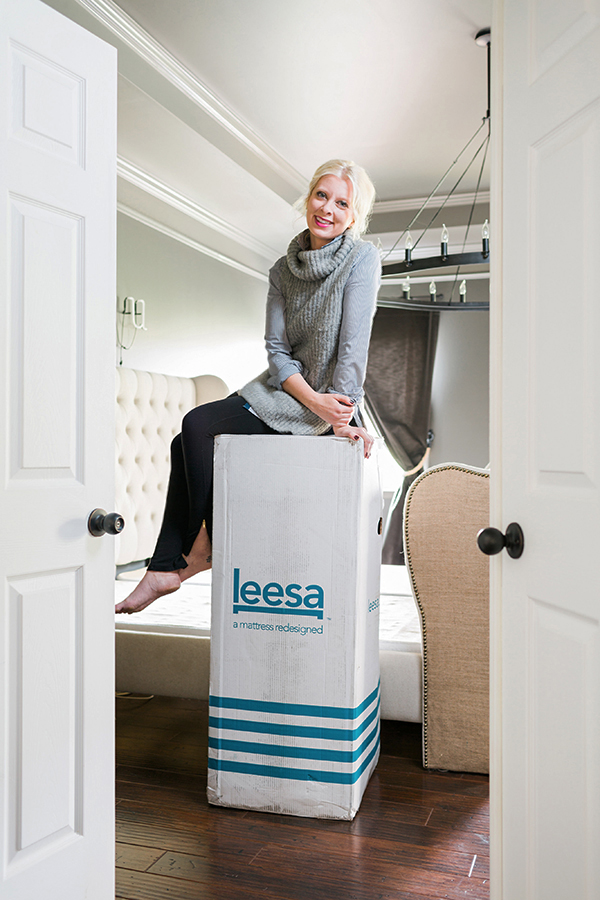 The best memory foam mattress (shipped straight to your door! @Leesa Sleep #sponsored #leesa
