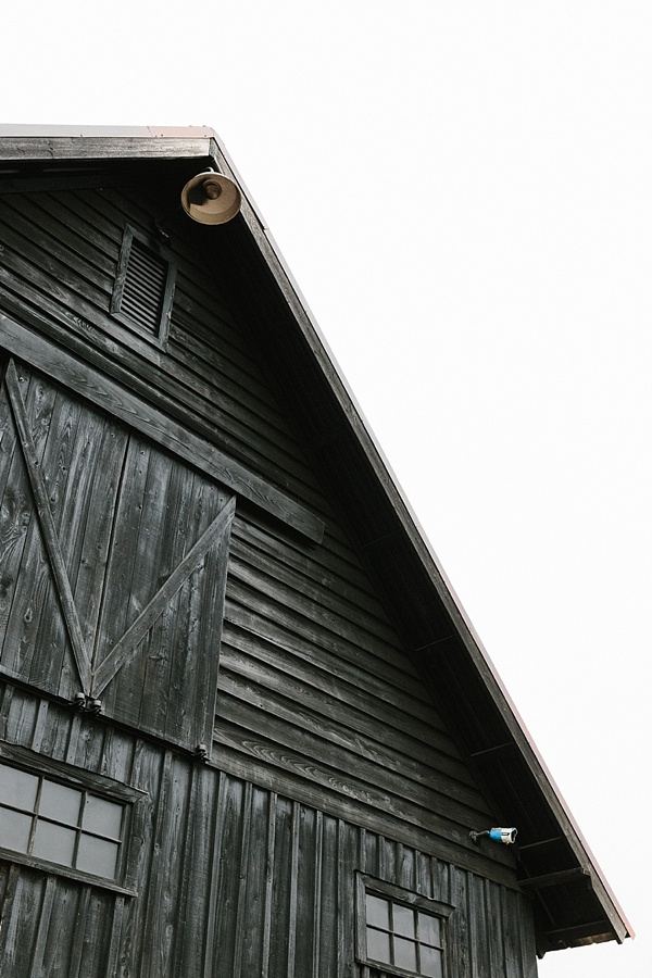 Black barn at Serenbe