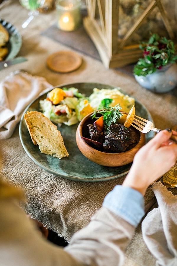 Irish Braised Beef recipe via Waiting on Martha
