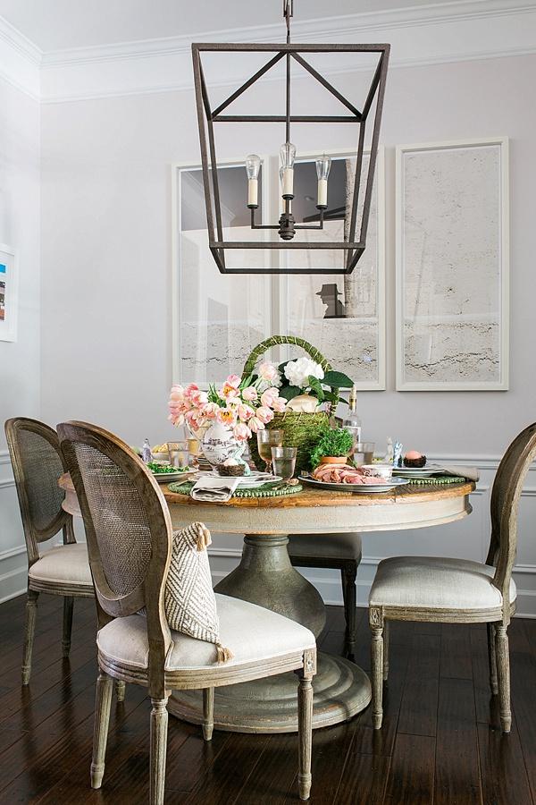 Easter table inspiration via Waiting on Martha