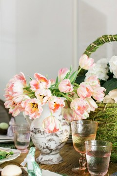 Easter table inspiration via Waiting on Martha