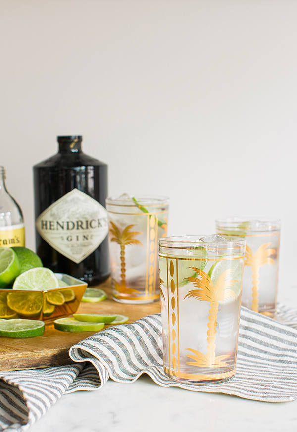 Classic gin and tonic recipe by Waiting on Martha