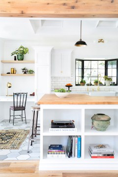 Open shelving inspiration to declutter, edit and organize | waitingonmartha.com