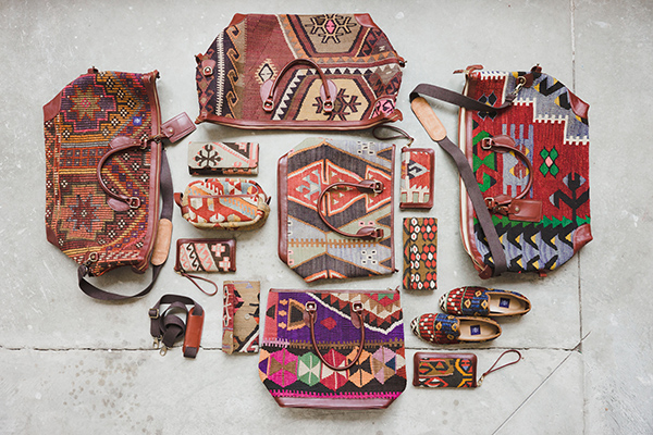 Res Ipsa handmade Kilim bags and shoes