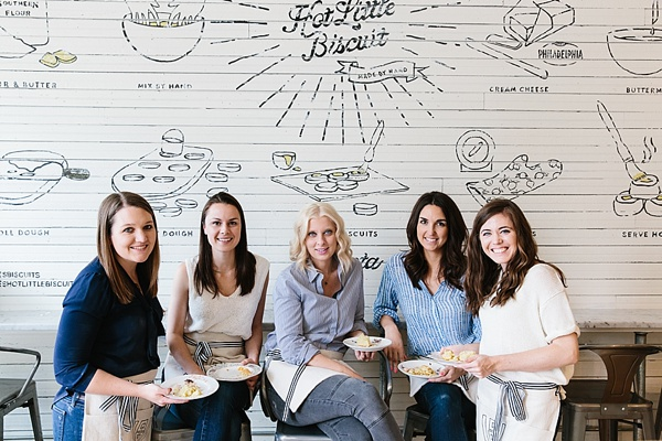 The WOM team at Callie's Hot Little Biscuit ATL