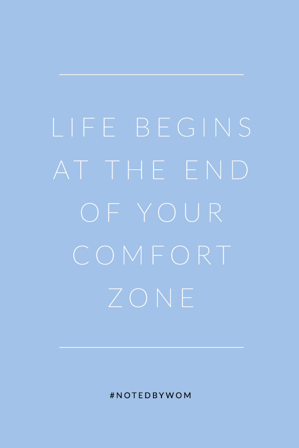 Find The End of Your Comfort Zone