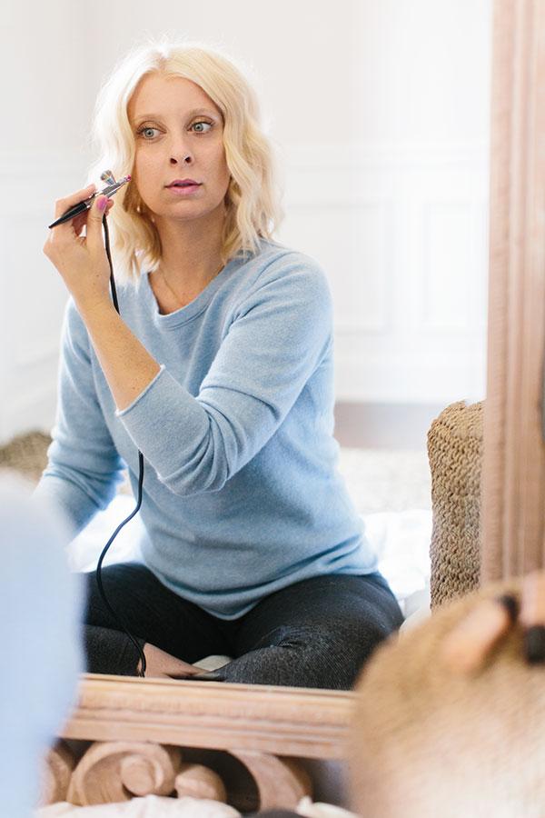 Airbrush makeup   @waitingonmartha   Luminess Air