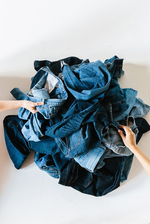 Finding the perfect pair of jeans, @waitingonmartha