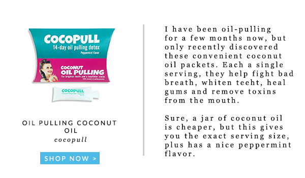 Cocopull oil pulling coconut oil
