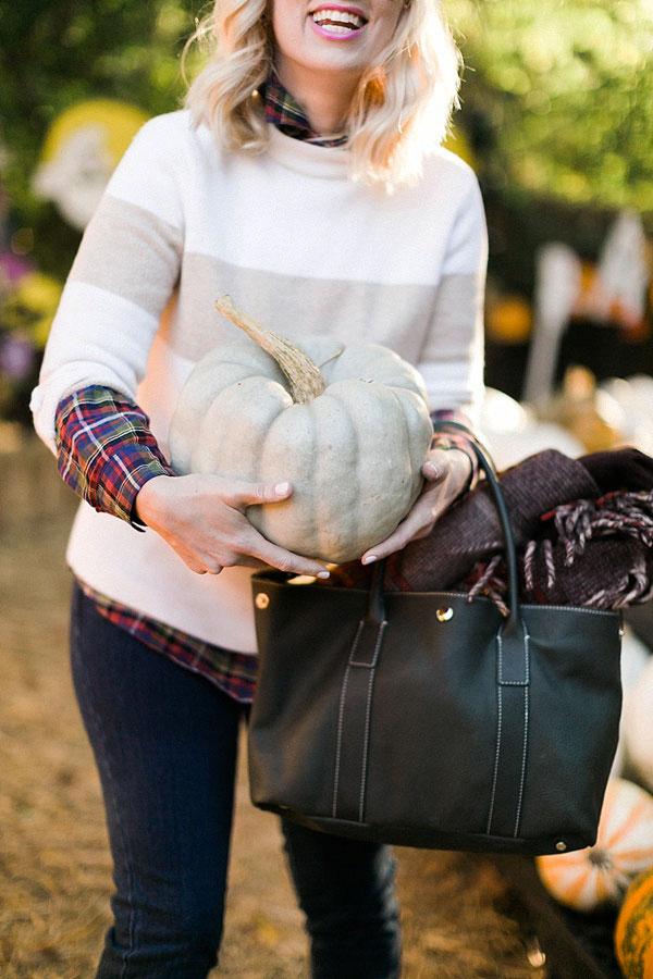 Picking pumpkins with @waitingonmartha @jmclaughlin #spon #fall #pumpkins