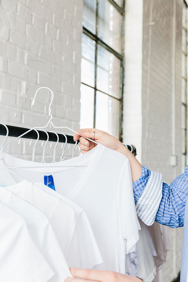 The perfect white tee, @waitingonmartha