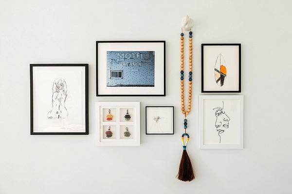 One Room Challenge gallery wall ideas, @waitingonmartha