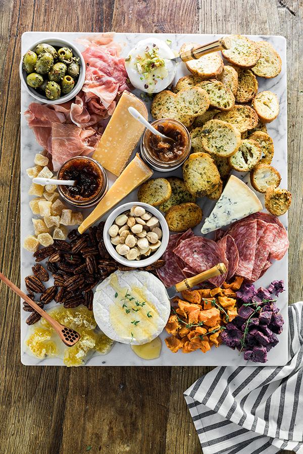 Building a seasonal cheese board, @waitingonmartha