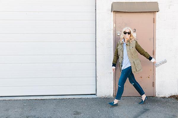 Easy spring outfit via waitingonmartha.com