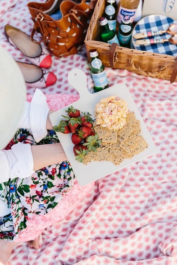 Easy pimento cheese recipe for a picnic, waitingonmartha.com