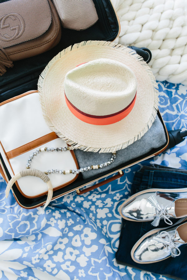 Easy travel packing tips with Waiting on Martha