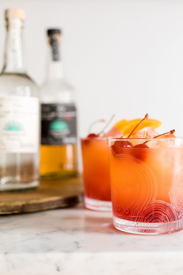 Tequila Sunrise cocktail recipe by waitingonmartha.com