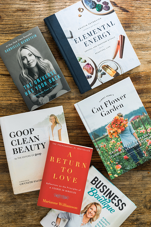 Goop Clean Beauty & more books for living a well-lived life. Waiting on Martha