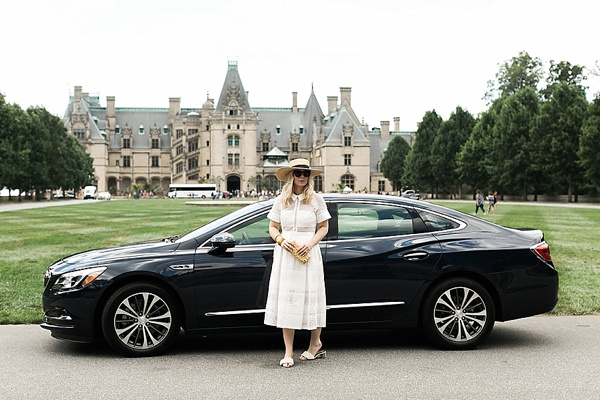 At the Biltmore estate with Waiting on Martha and Buick