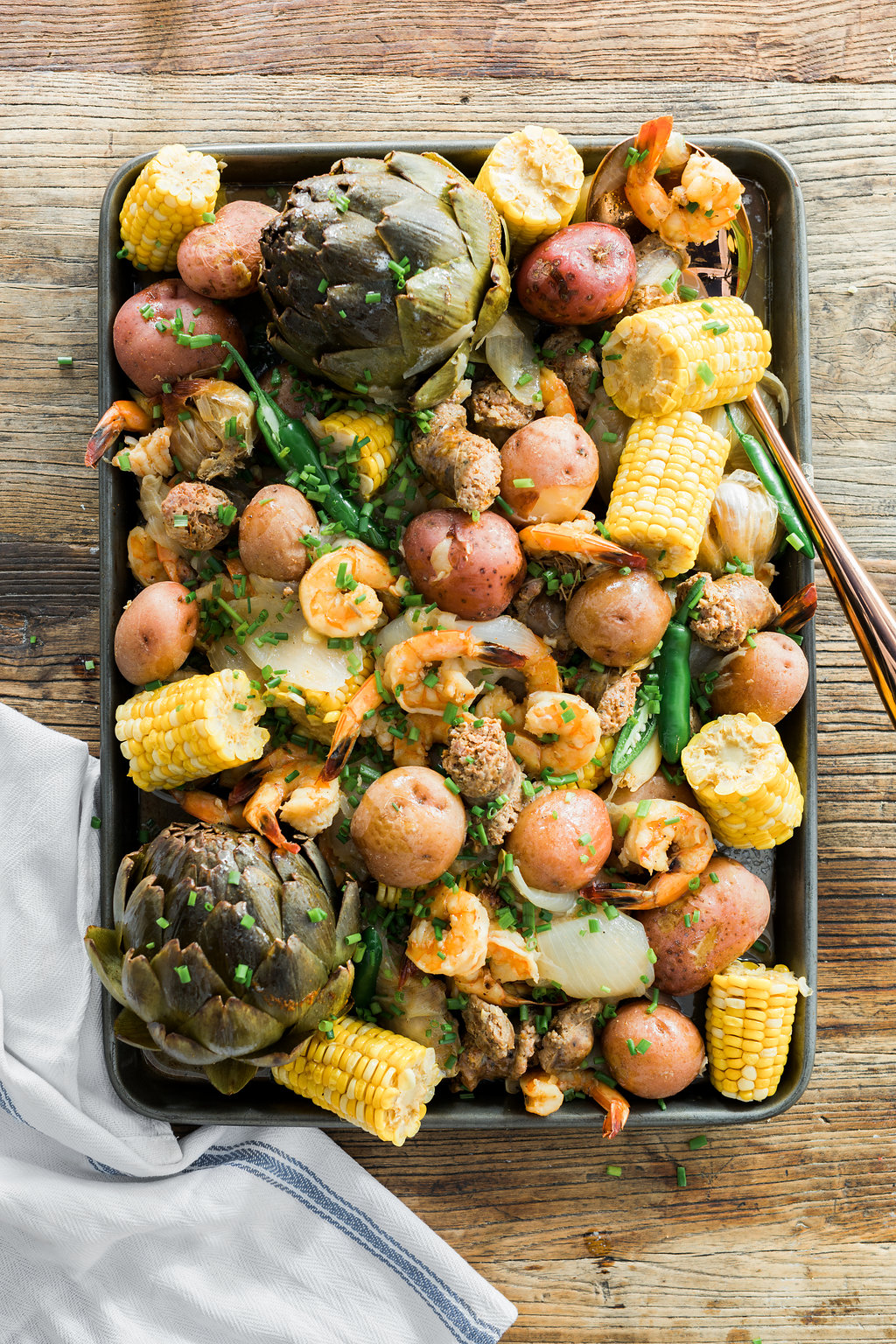 Summer Shrimp Boil recipe on Waiting on Martha
