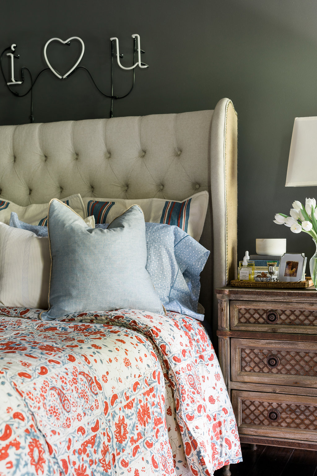 Lauren by Ralph Lauren Kelsey bedding on Waiting on Martha