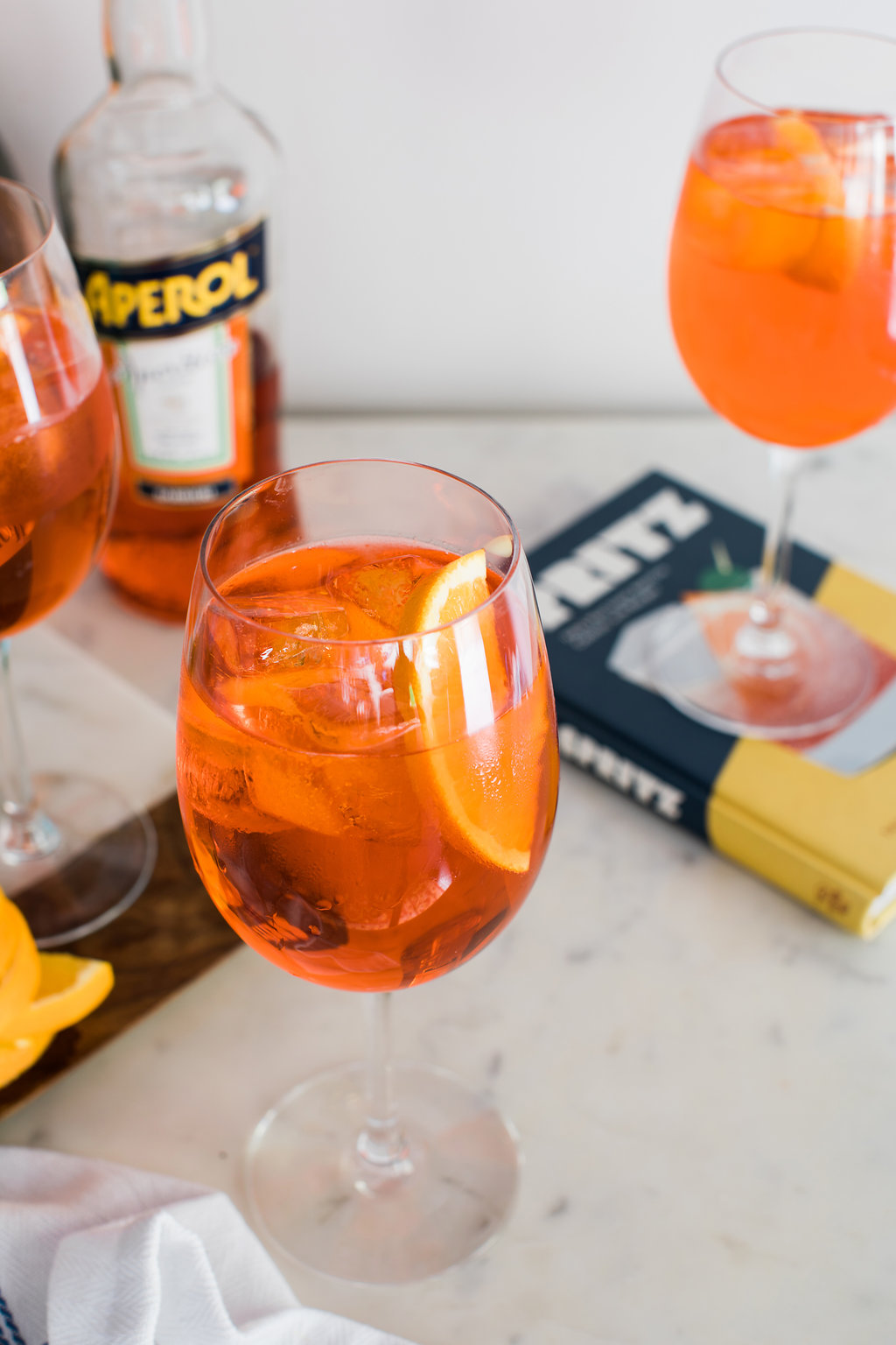 The Aperol Spritz recipe on Waiting on Martha
