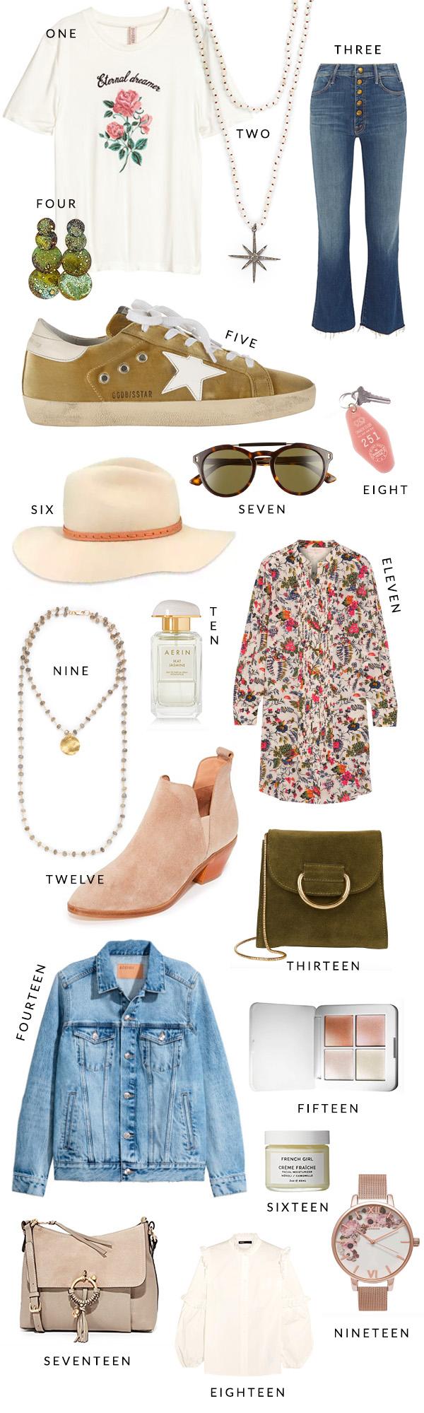 Fall essentials and 70s revival fashion on waitingonmartha.com