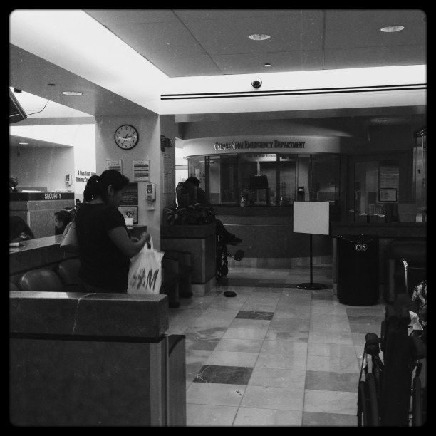Cedars Sinai Emergency Room, July 2013
