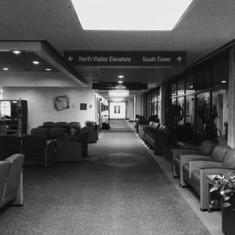 Cedars Sinai Hospital, Los Angeles. July 2013