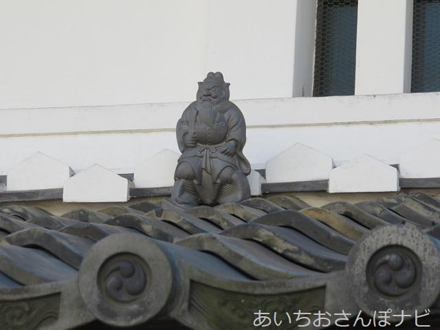 名古屋市緑区有松の棚橋家の鐘馗さま