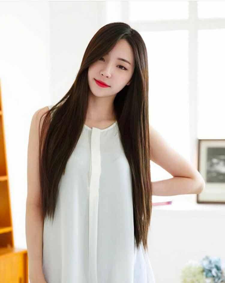 Model Rambut Wanita Panjang Lurus 2019 - Galeri Gambar