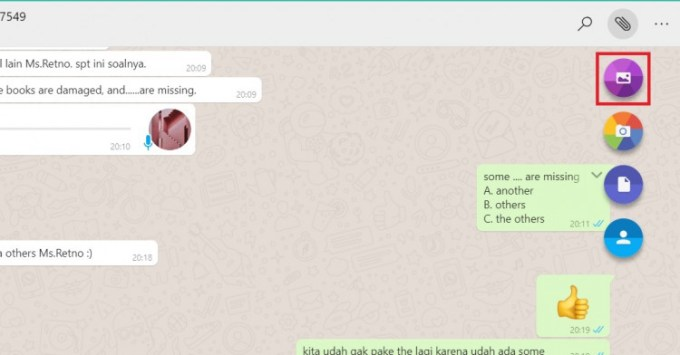 cara download whatsapp di pc