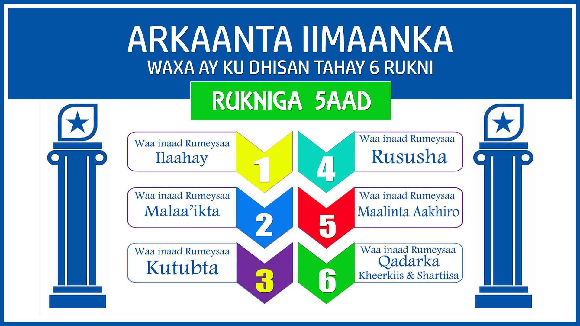 Arkaanta Iimaanka – Qaybta 5aad